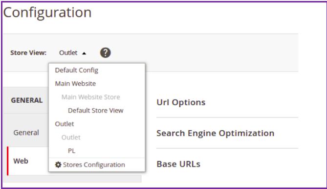 formularz konfiguracja strony