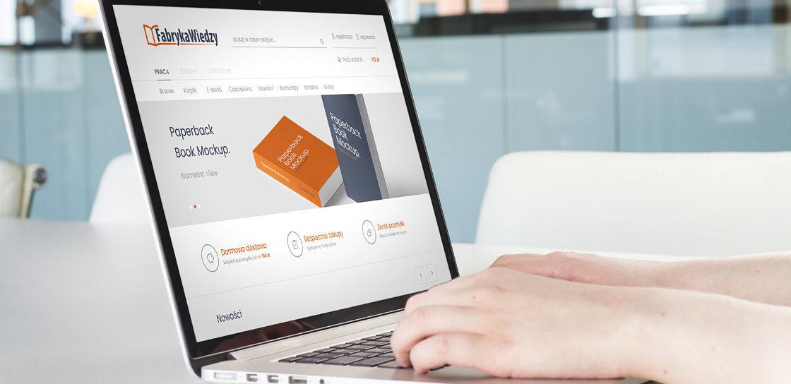 Fabryka Wiedzy - księgarnia online na Magento 2
