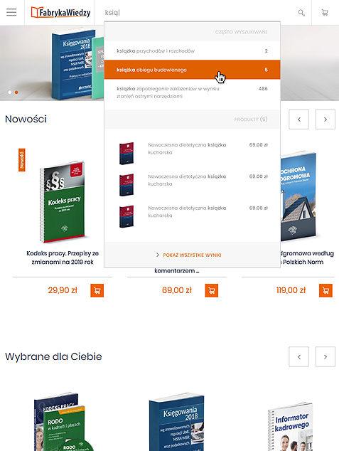 Fabryka Wiedzy na Magento 2 - tablet