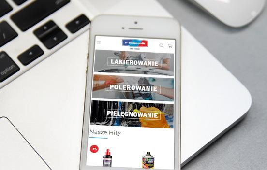 e-lakiernik - smartphone
